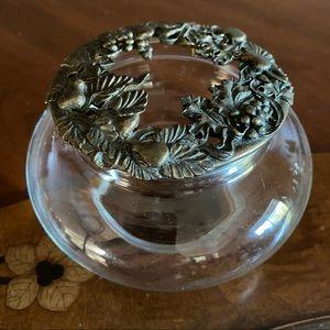 Rawcliffe Brass 1995 Garden Candle holder